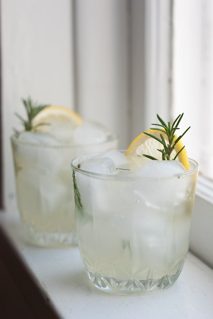 The post Cocktail Corner: Rosemary Gin Fizz appeared first on DRINKING ...