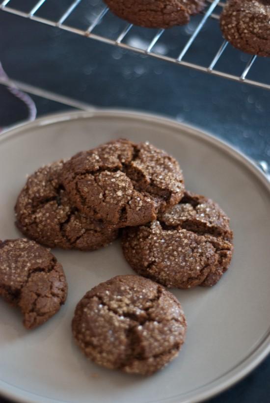 whole wheat molasses cookie recipe