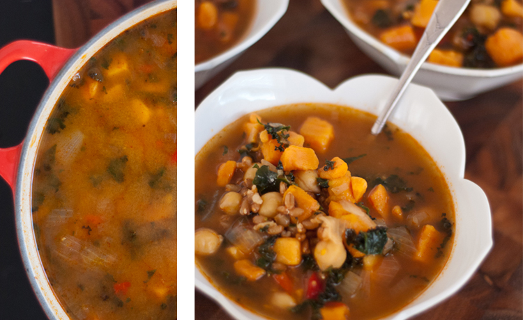 Sweet Potato And Chickpea Stew With Quinoa Recipes — Dishmaps