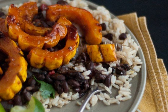 chipotle glazed delicata squash recipe
