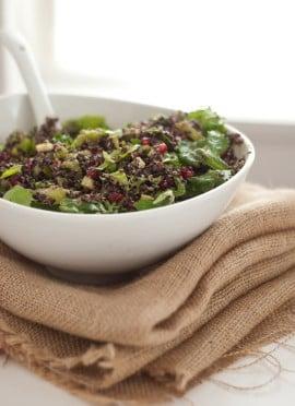 Pomegranate Quinoa Salad
