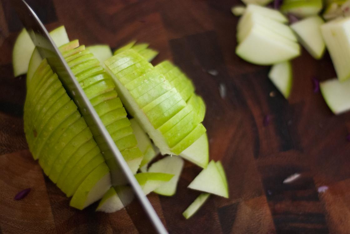 Apple Slaw For Winter Recipe — Dishmaps
