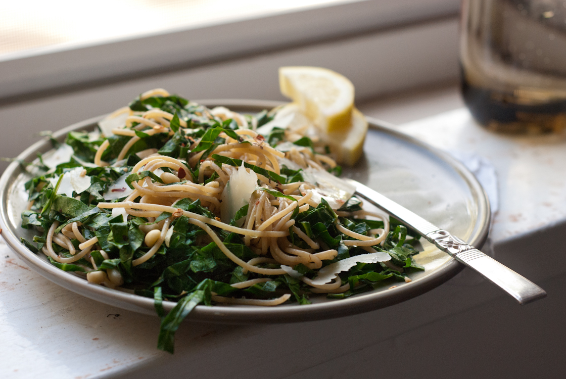 ... pasta with tuna shell pasta with sausage and greens beet greens and