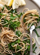 lemon collard greens pasta