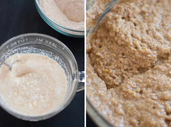 quick molasses bread batter