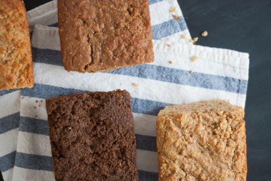 quick molasses (or honey or maple) bread