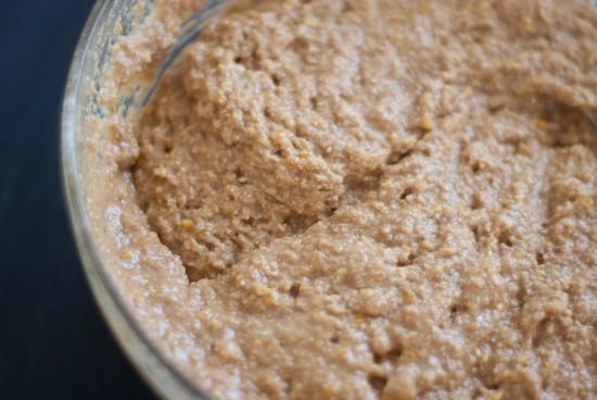 quick molasses bread batter