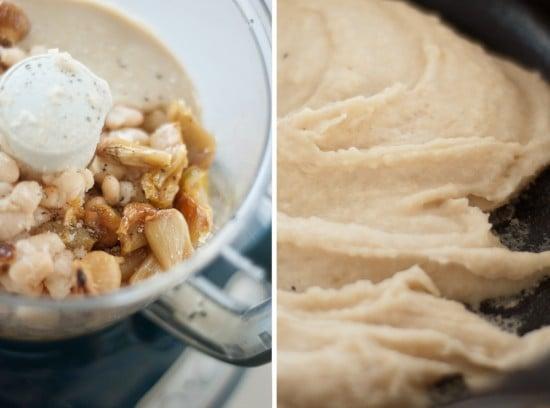 how to make white bean hummus