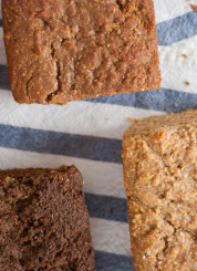 quick molasses (or honey or maple) bread