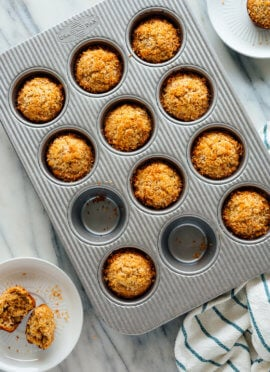 banana coconut muffins recipe