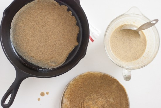 buckwheat and spelt crepes recipe