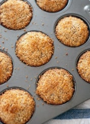 Healthy banana coconut muffins - cookieandkate.com