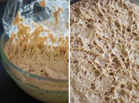 no work whole wheat dough