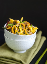 Springtime Stir-Fried Millet