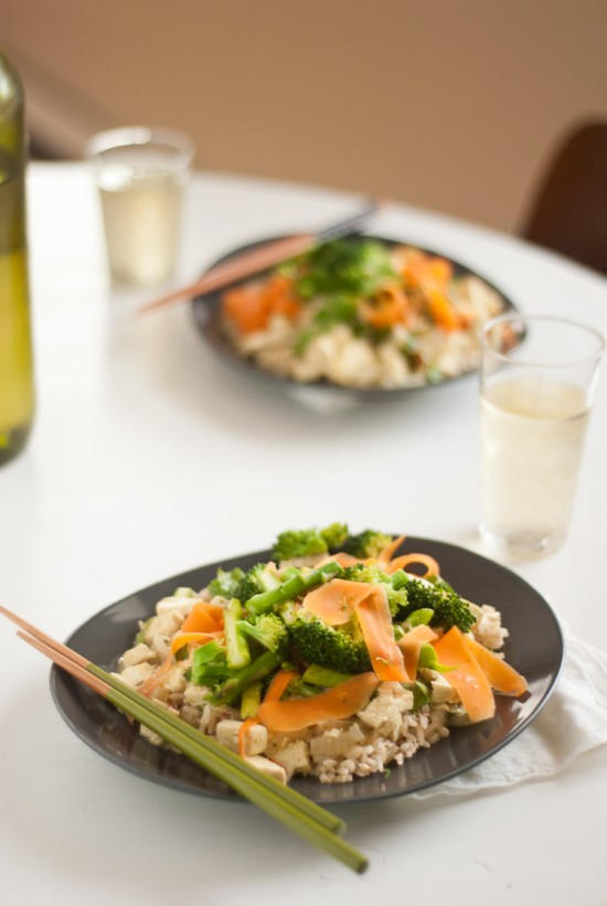 vegetarian Thai green curry recipe