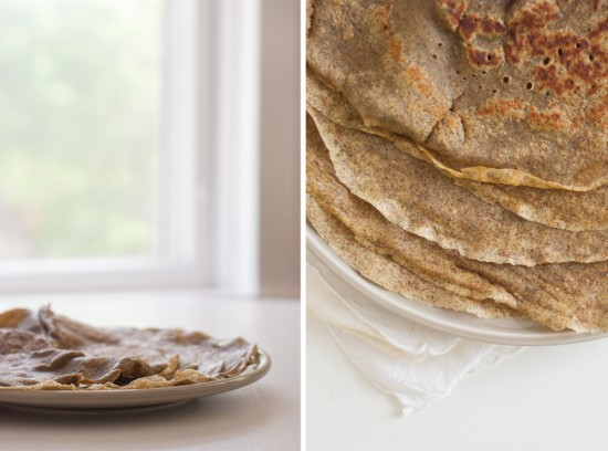 whole grain crepes recipe