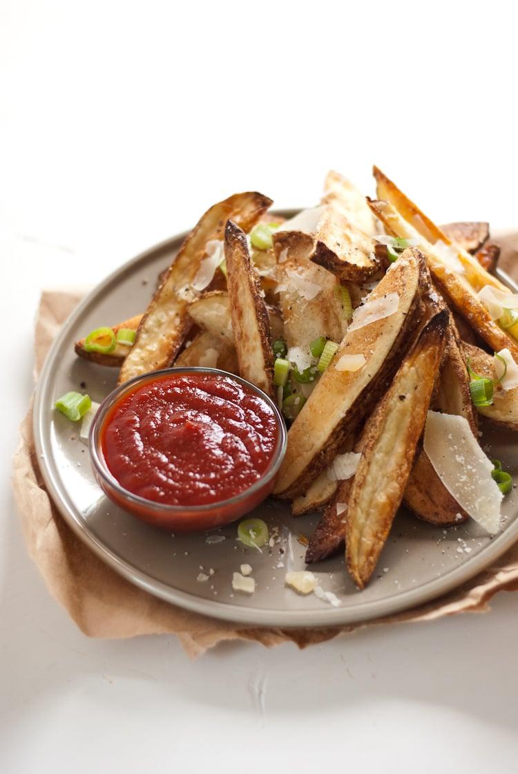 Patatas fritas crujientes al horno