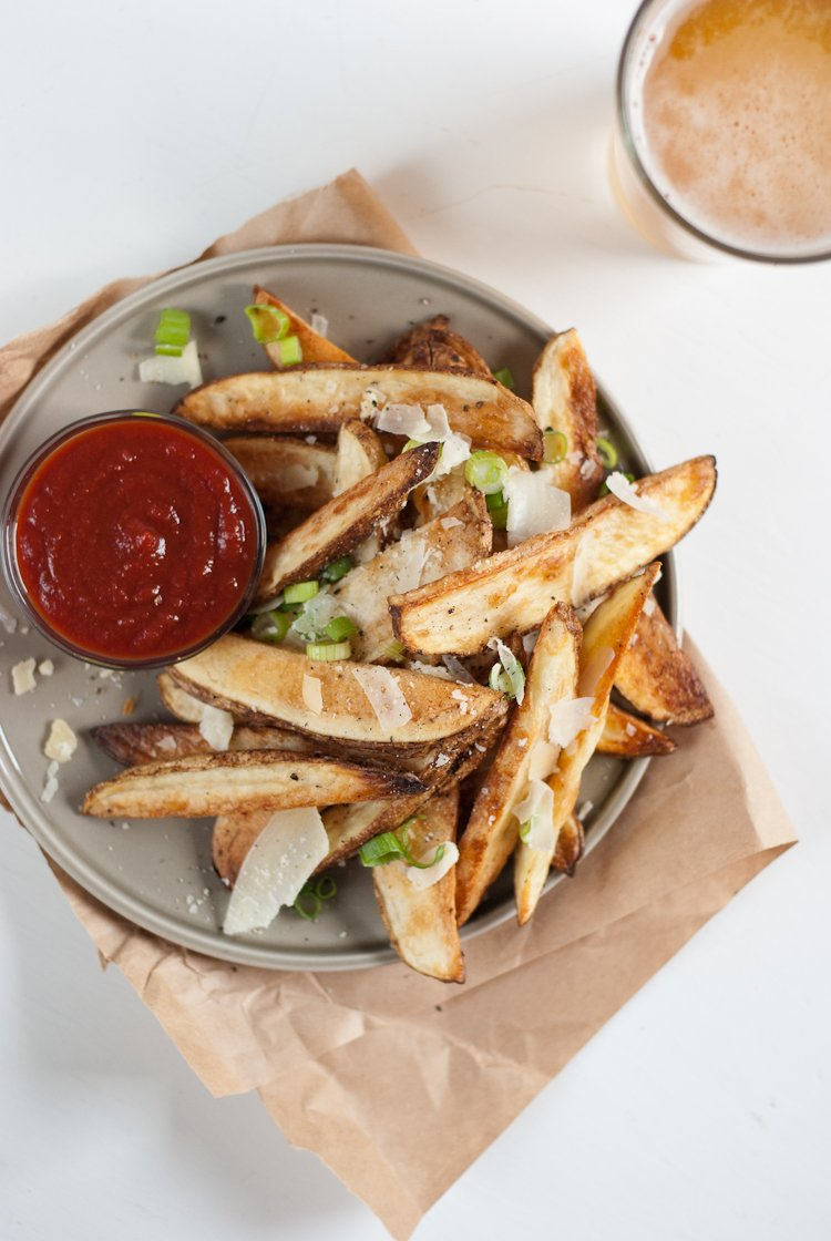 Crispy Baked French Fries | Recipes