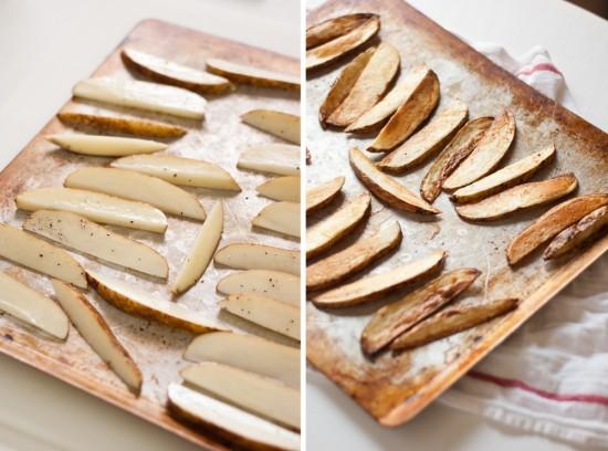 how to bake crispy fries
