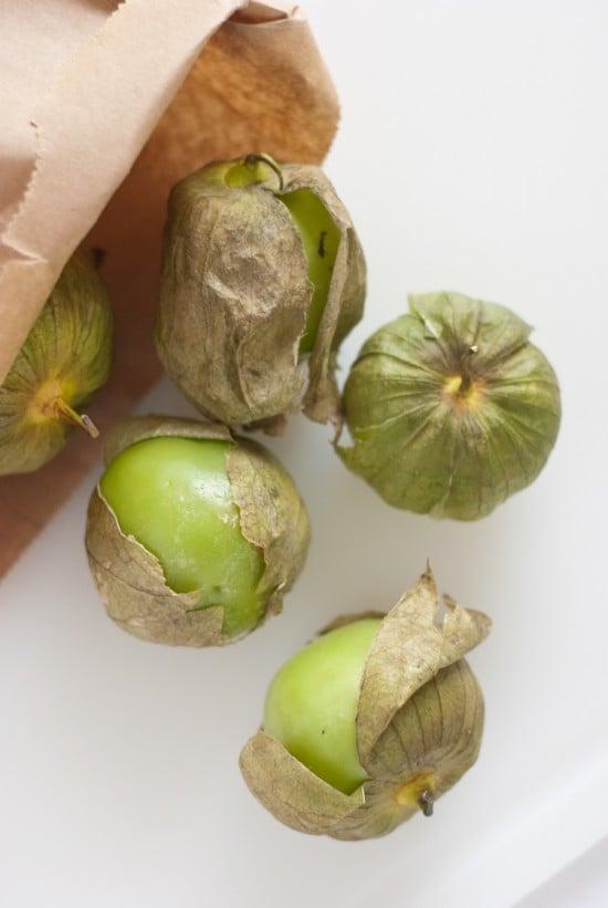 tomatillo hulls