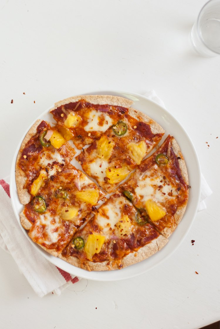 Simple tortilla pizzas cookie and kate tortilla pizza recipe forumfinder Images
