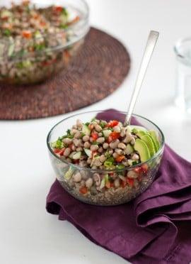 Senegalese Black-Eyed Pea Salad