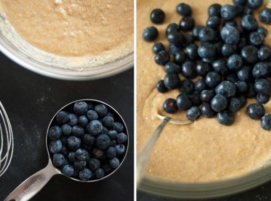 blueberry batter