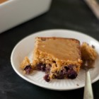 blueberry maple tea cake