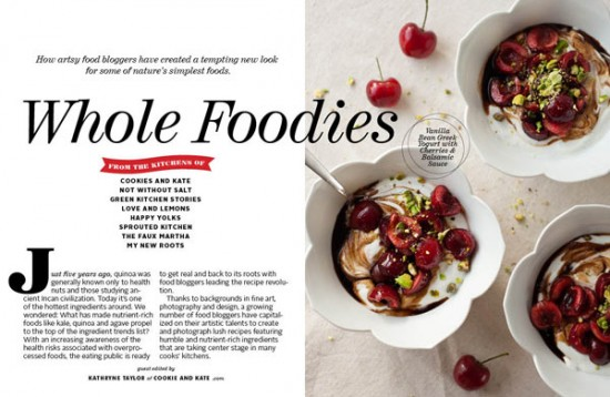 Whole Foodies feature in FoodieCrush Magazine