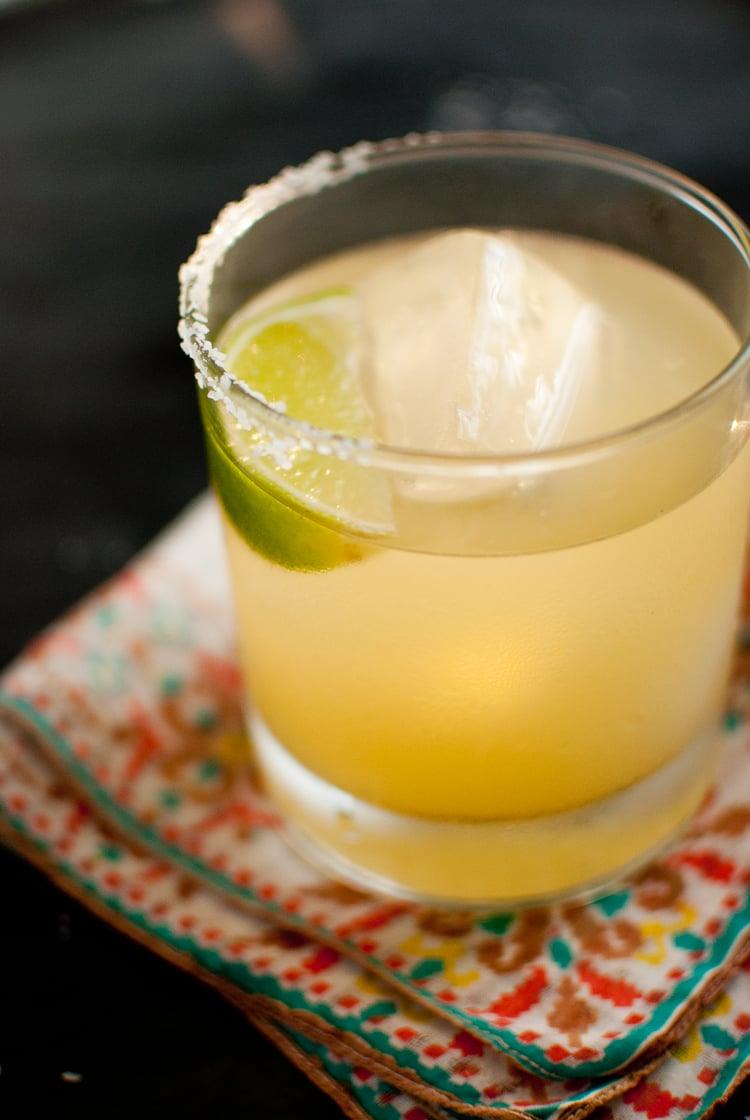 fresh margarita recipe with agave nectar