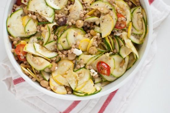 Mediterranean pasta salad by Cookie and Kate