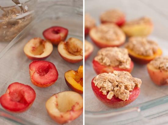 individual peach crisps