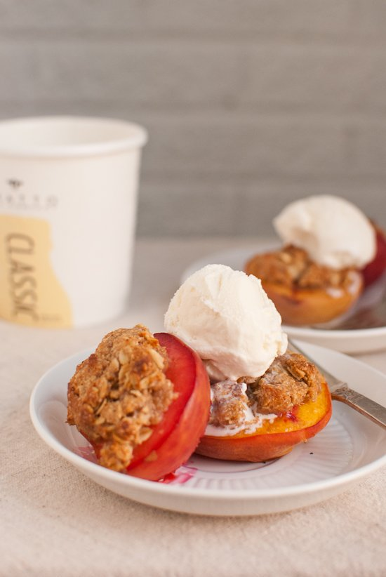 Peach Crisps Recipe