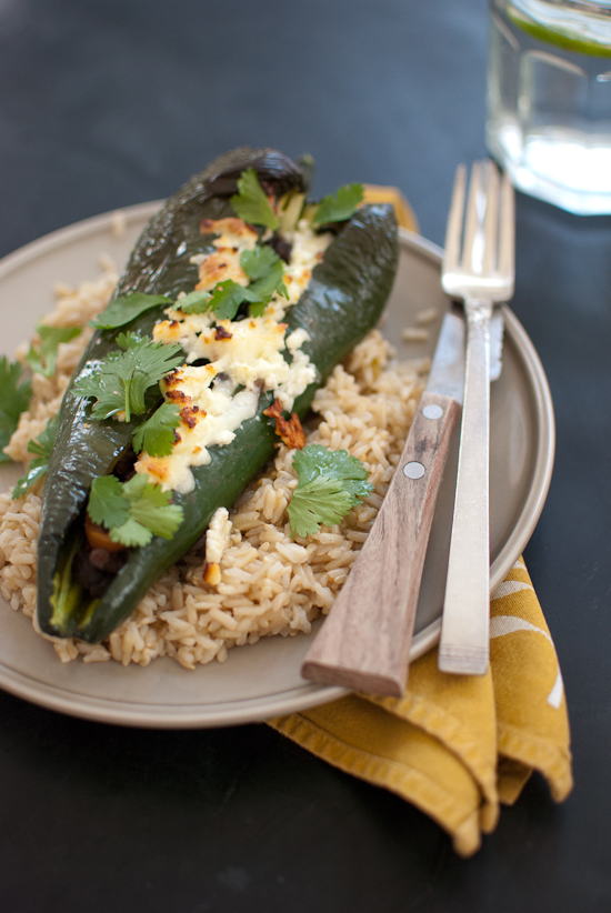 stuffed poblano peppers grilled chorizo stuffed poblano peppers cheese ...