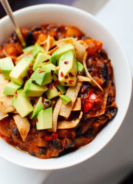 butternut squash chipotle chili recipe