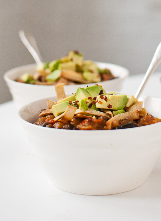 Vegetarian Butternut Squash Chipotle Chili With Avocado Recipes ...