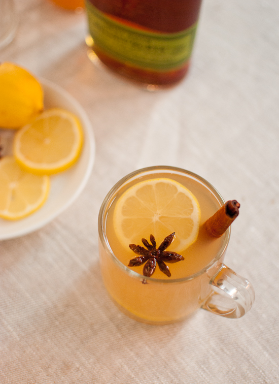 Sidra de manzana Hot Toddy