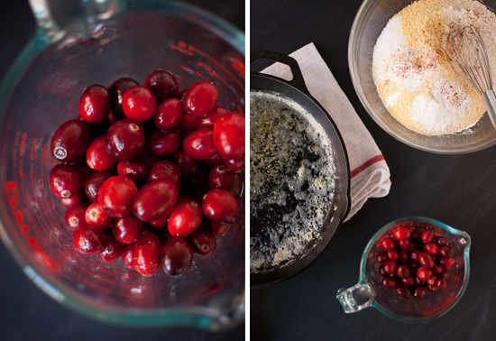 cranberry cornbread ingredients