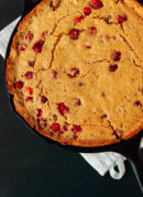 Cranberry-Maple Skillet Cornbread