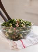 Deb's Kale Salad with Apple, Cranberries and Pecans