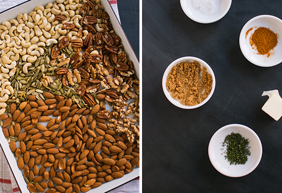 rosemary roasted nuts ingredients