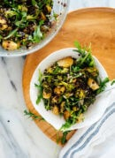 Lemony Roasted Broccoli, Arugula & Lentil Salad
