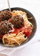 Lentil and Mushroom Meatballs