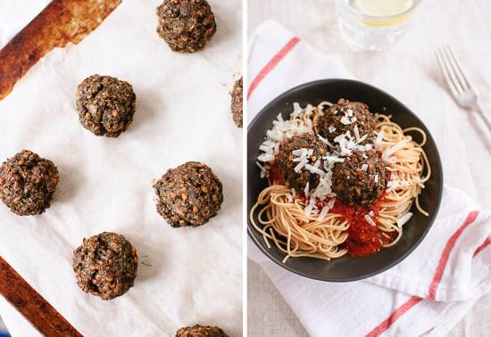 Lentil mushroom meatball recipe
