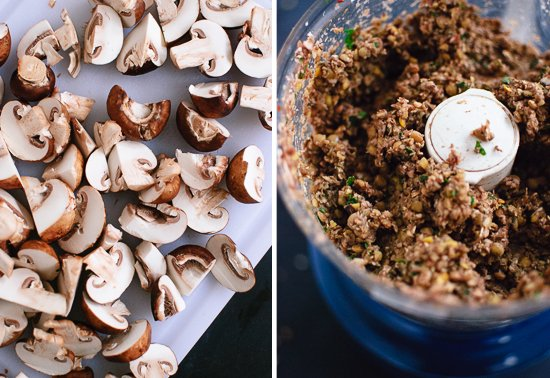 Vegetarian Lentil and Mushroom Meatballs
