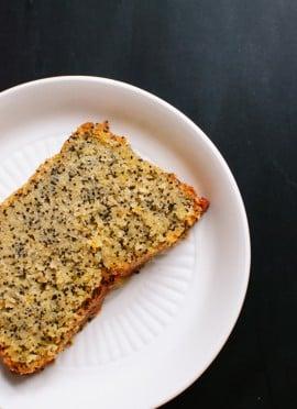 Orange Poppy Seed Pound Cake