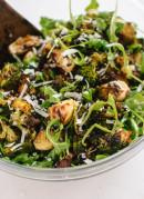 Roasted Broccoli, Arugula and Lentil Salad - recipe at cookieandkate.com