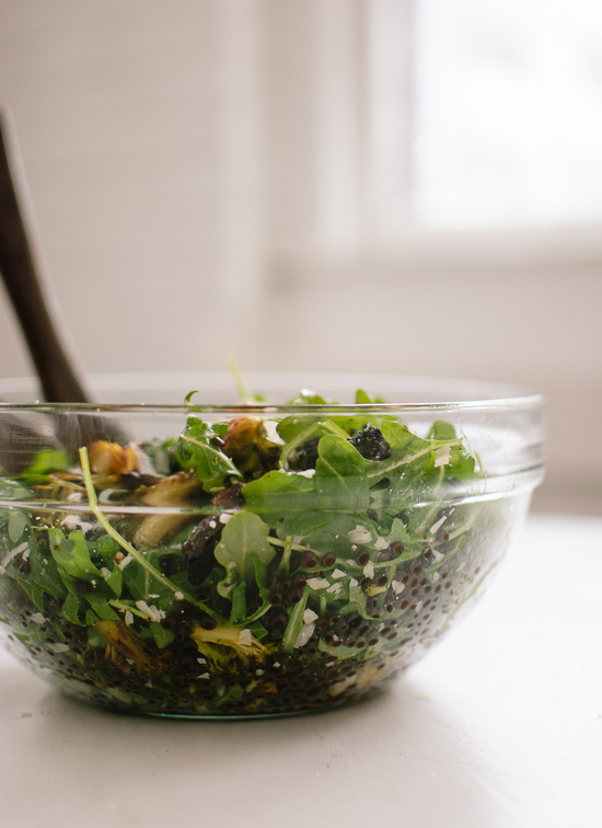 Roasted Broccoli, Arugula and Lentil Salad Recipe