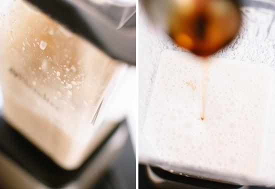 cashew milk blending