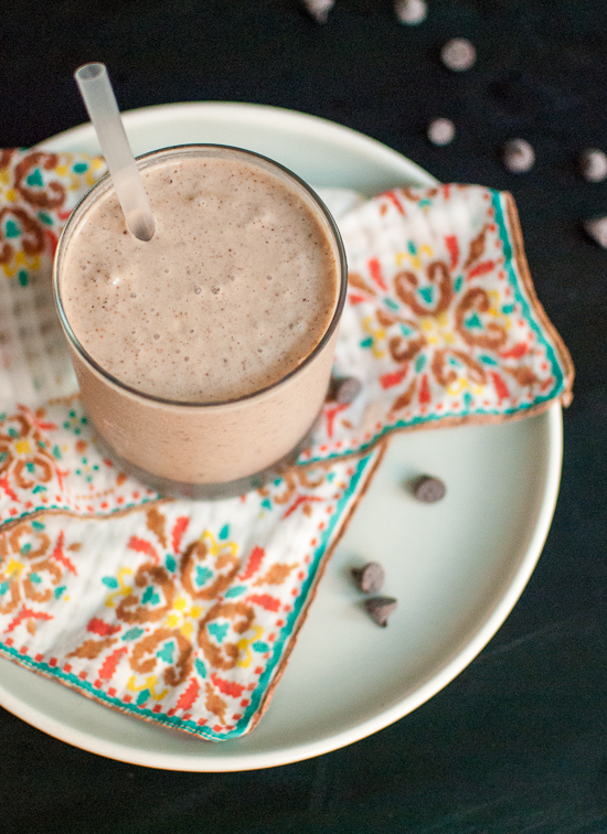 Oaxaca chocolate banana smoothie recipe
